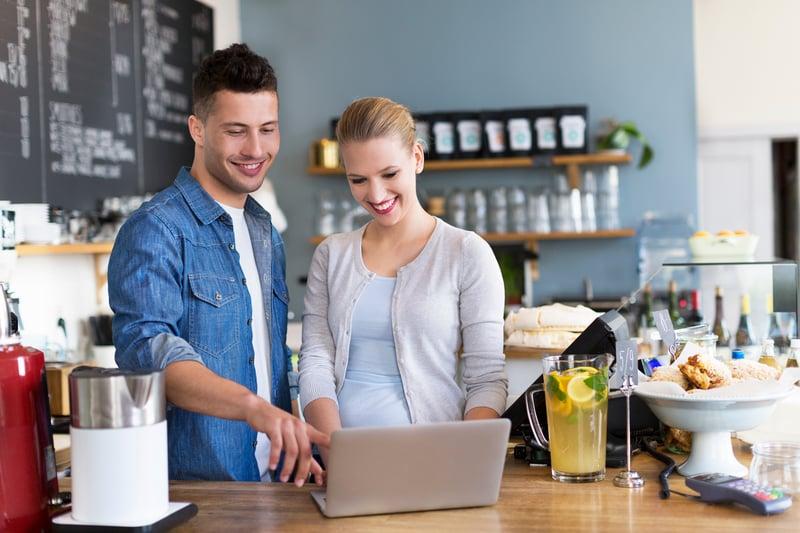 Quy trình order/thanh toán chặt chẽ quán cafe