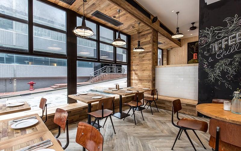 thiết kế quán cà phê ấn tượng