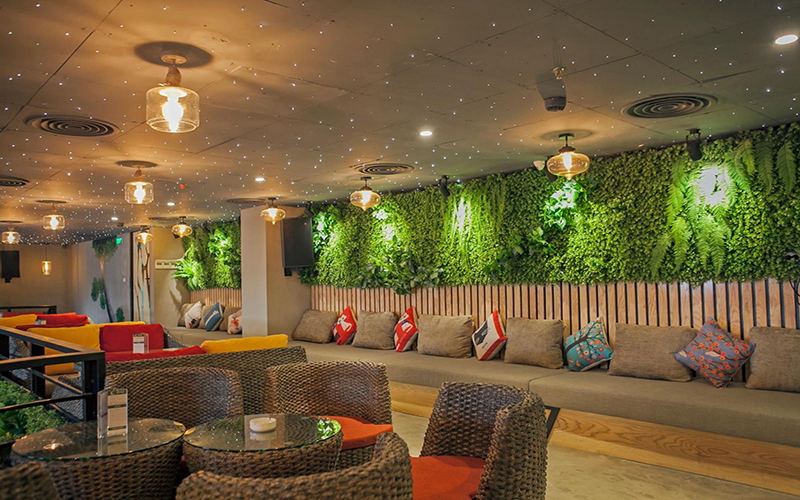 thiết kế quán cà phê thiên nhiên