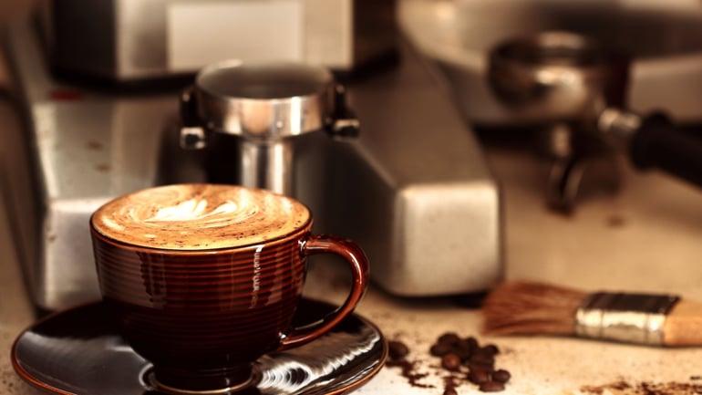 Cà phê hiện đại - cà phê pha máy