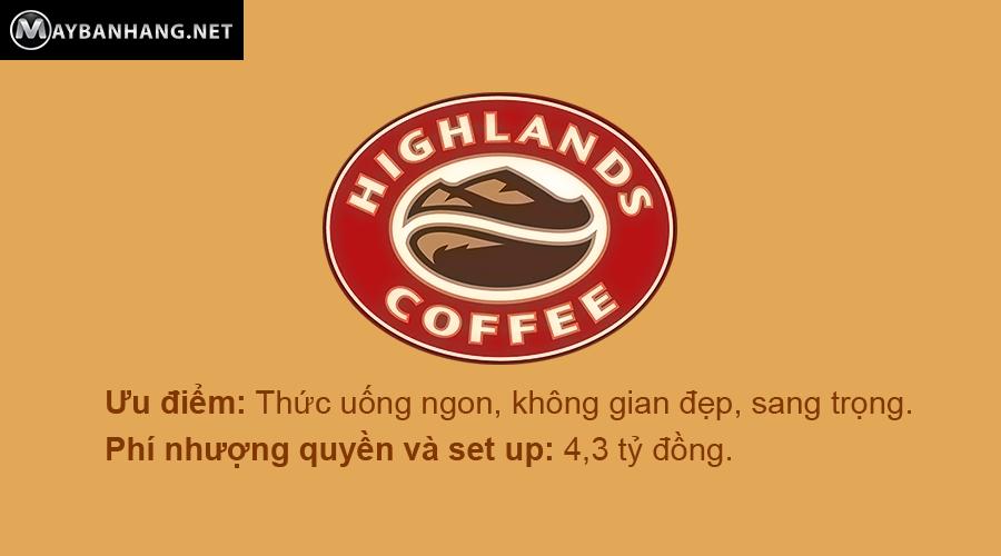 Gia nhuong quyen thuong hieu 10 chuoi cafe lon nhat nuoc ta