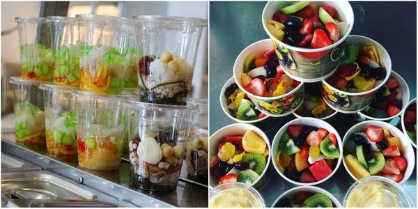 đồ ăn vặt được người lựa chọn để kinh doanh online