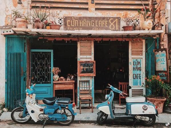Hãy tận dụng thời tiết tại quán cafe