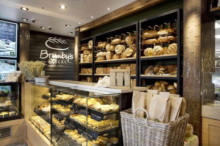 Định hình phong cách riêng cho cửa hàng bánh