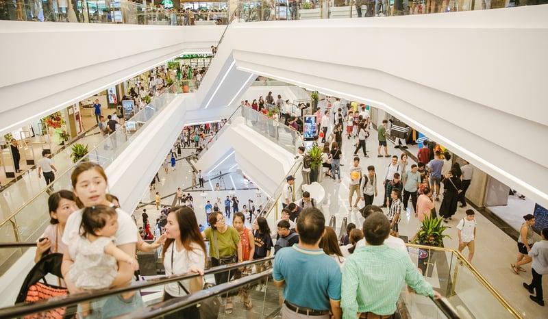 Thoải mái mua sắm với nhiều sự lựa chọn tại Vincom Center