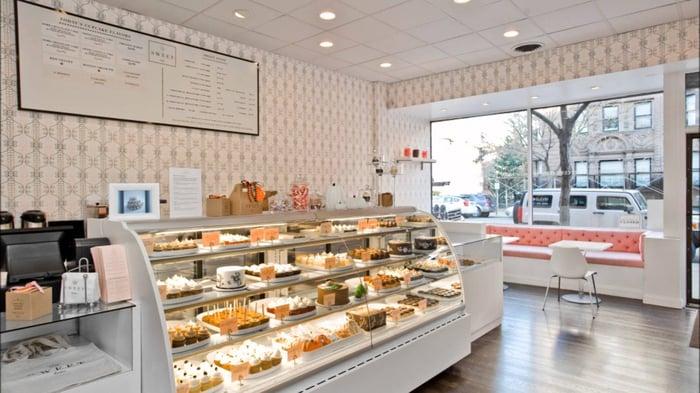 Mẹo thiết kế các cửa hàng bánh ngọt đẹp mắt