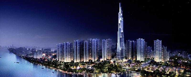 Tòa nhà cao nhất Việt Nam - Landmark 81