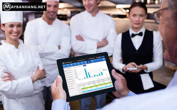 Hệ thống bảo mật phần mềm quản lý nhà hàng