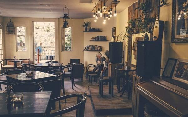 Mở quán cafe acoustic