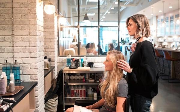 Quản lý khách hàng tại salon tóc