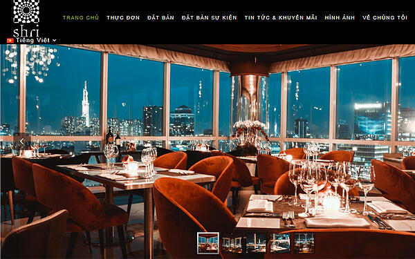 nhà hàng cũng cần tạo website