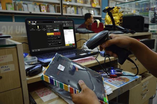 máy quét mã vạch cho các cửa hàng tiện lợi